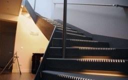 Escalera inoxidable